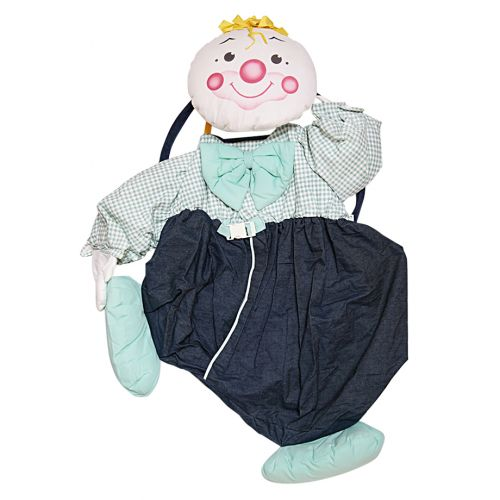 Multicolored Hanging Clown Toy