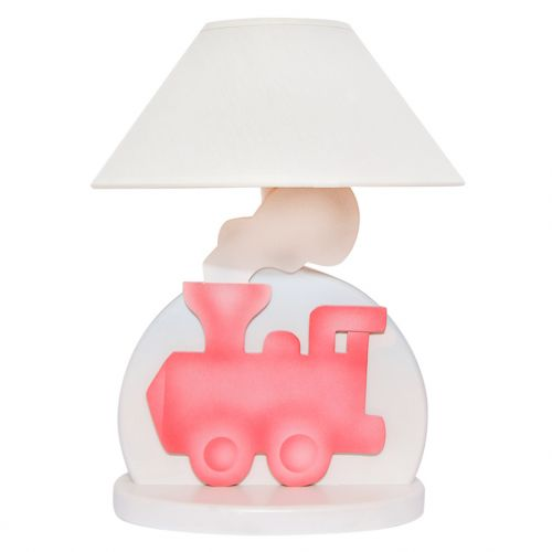 Red Train Table Lamp