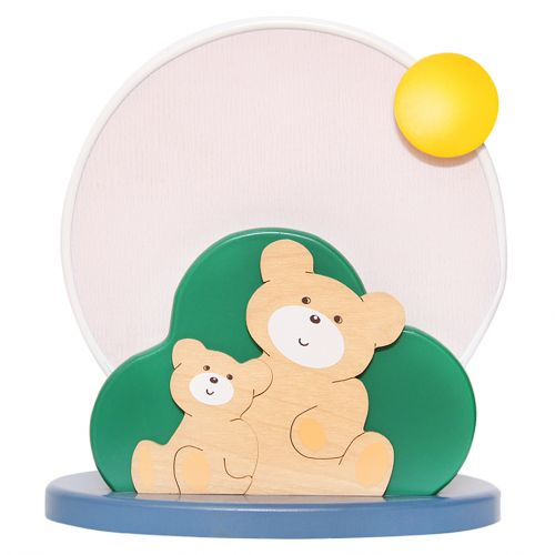 Bear Round Table Lamp