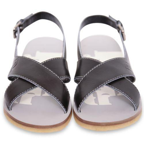 Black Formal Sandals