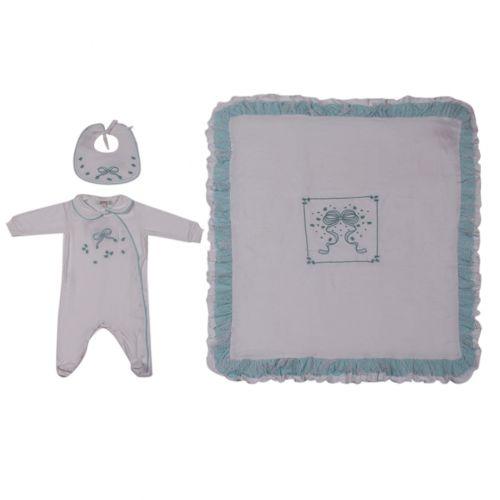 Aletta Baby Set - Blue