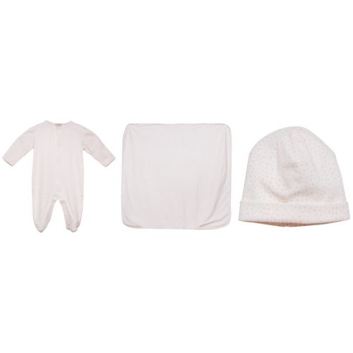 Pink Star Pyjama with Hat and Blanket