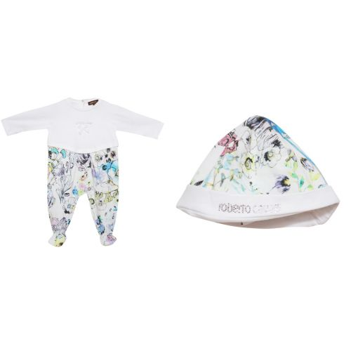 Pyjama+Hat+Bib Roberto Cavalli