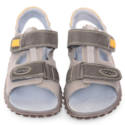 Blue and Grey Stitched Sandal