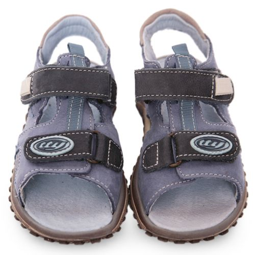 Blue Sandal with Velcro Strap