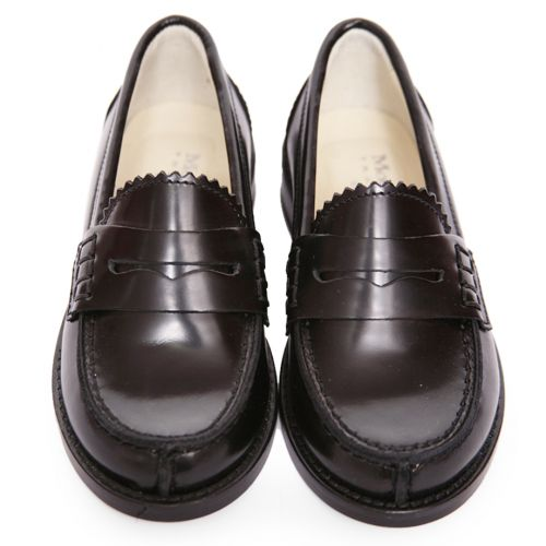Black Smart Leather Shoes