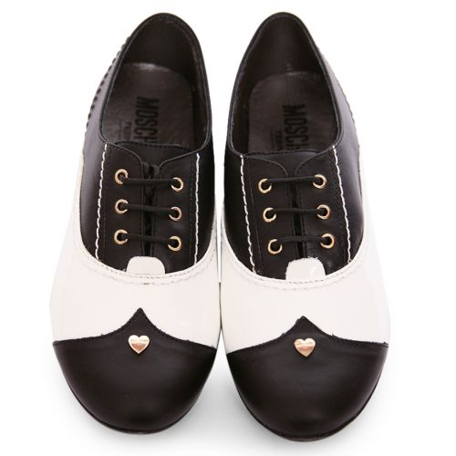 Black & White Smart Shoes