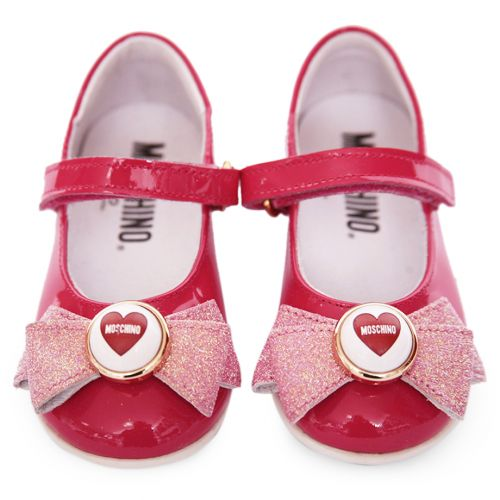 Red Ribbon & Heart Shoes