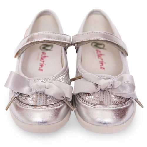 Metallic Silver Tone Shoes