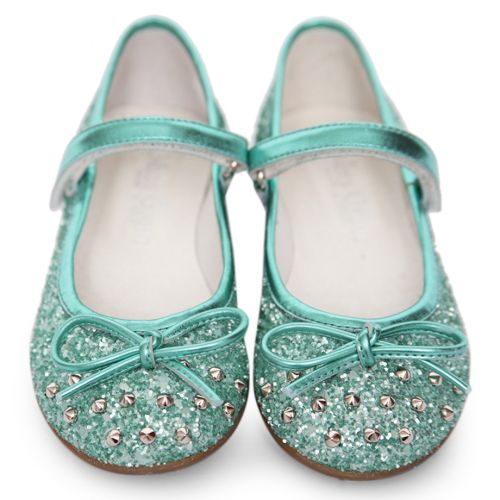 Turquoise Studded Shoes