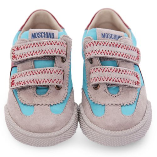 Multicolored Stitched Trainers