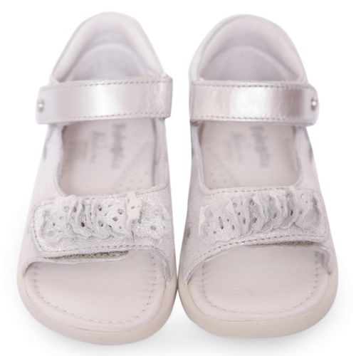 Silver Open Toe Sandal