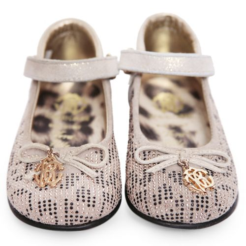 Beige Studded Shoes