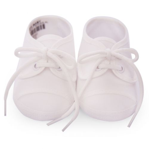 Unisex Ivory Soft Baby Shoes