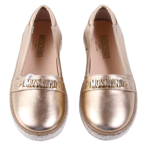 Moschino Shoes - Gold