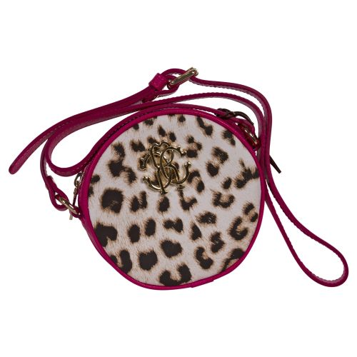 Roberto Cavalli Shoulder Bag - Fuschia