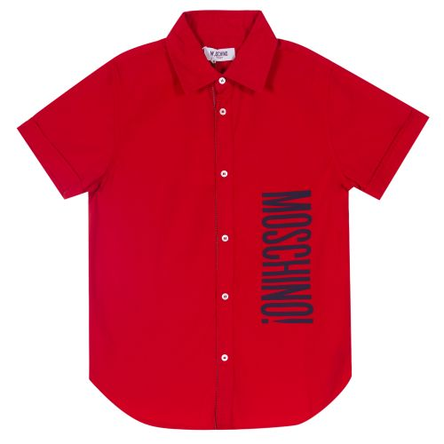 Red Formal Polo