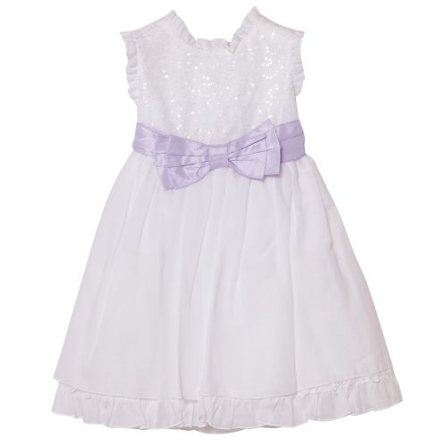 Aletta Dress With Bolero - White