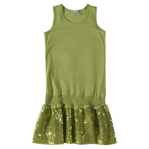 Microbe Dress - Green