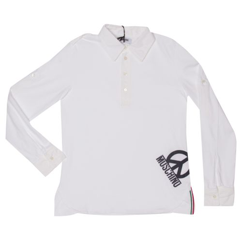 Moschino Polo - White