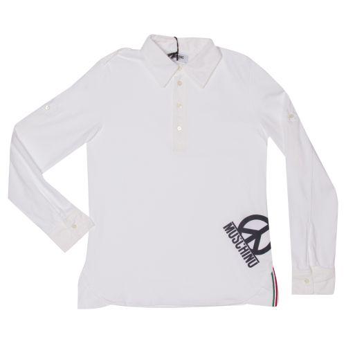 Moschino Polo - White