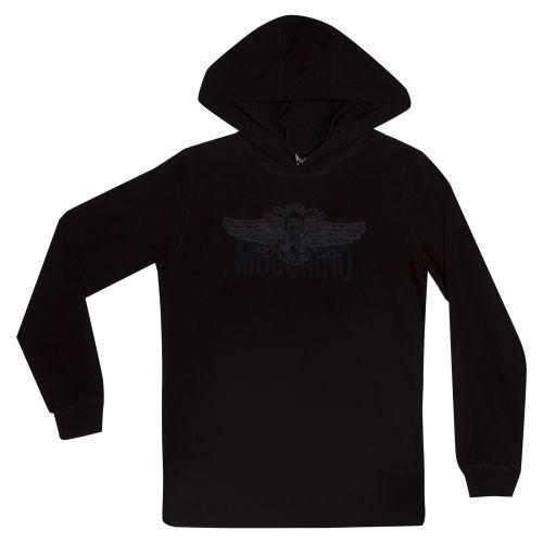Black Hooded Jacket
