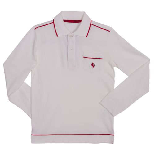 Polo Longsleeves - White
