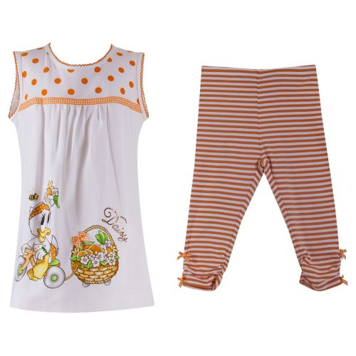 Monnalisa 2pc Set - Orange