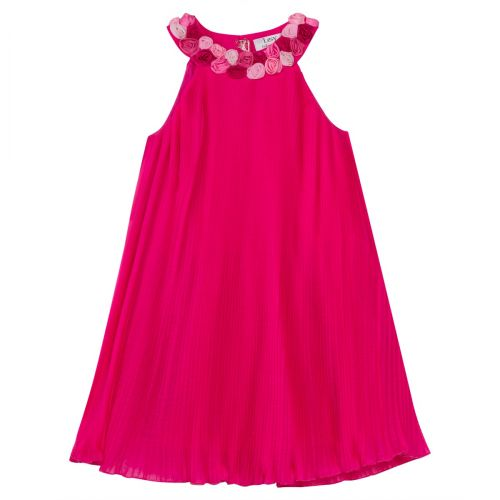 Lesy Dress - Fuschia