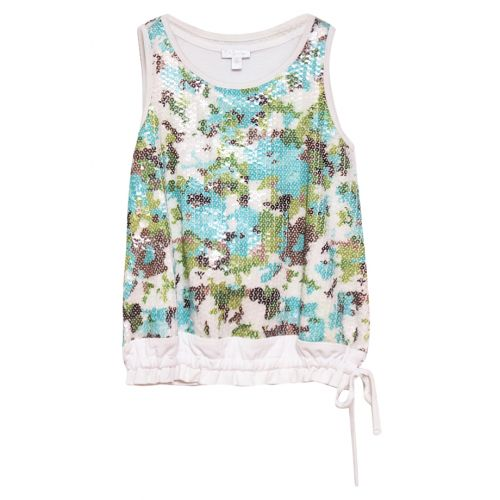 Multicolored Sleeveless Top