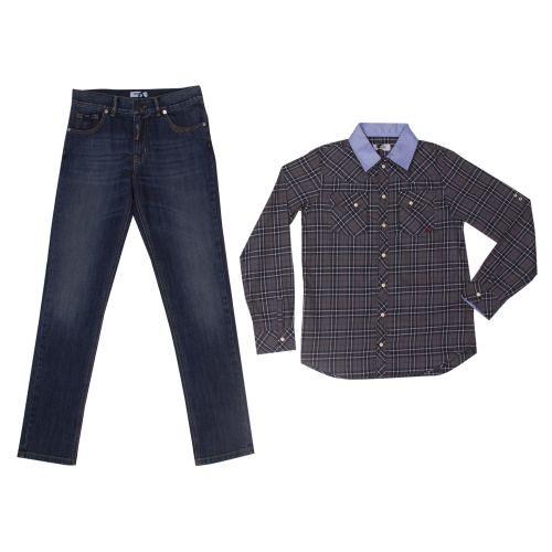 Moschino 2pc Set Boy - Gray