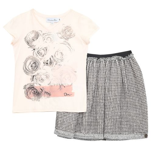 Baby Dior Top with Skirt