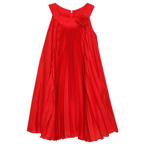 Red Sleeveless Dress