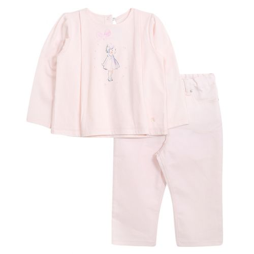 Baby Dior Sweater With Trouser