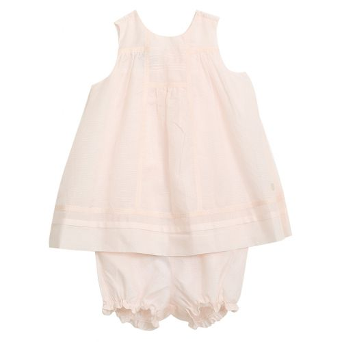 Baby Dior Dress & Underpants - Pink