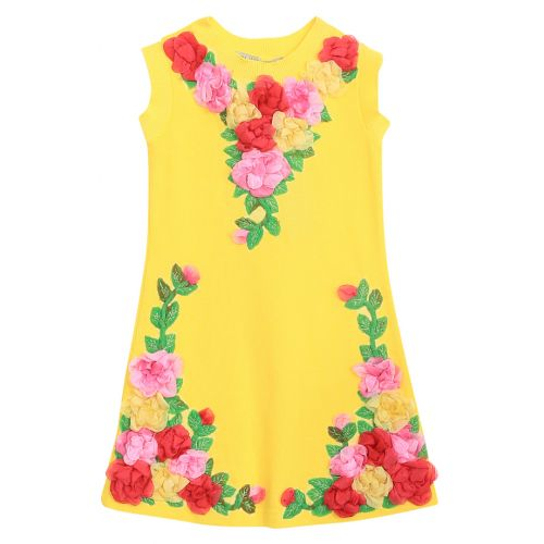 Quis Quis Dress - Yellow
