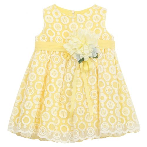 Aletta Dress - Yellow