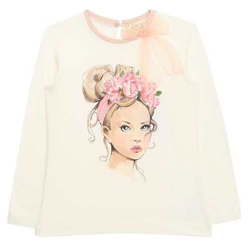 Monnalisa SweaT-Shirt - Pink