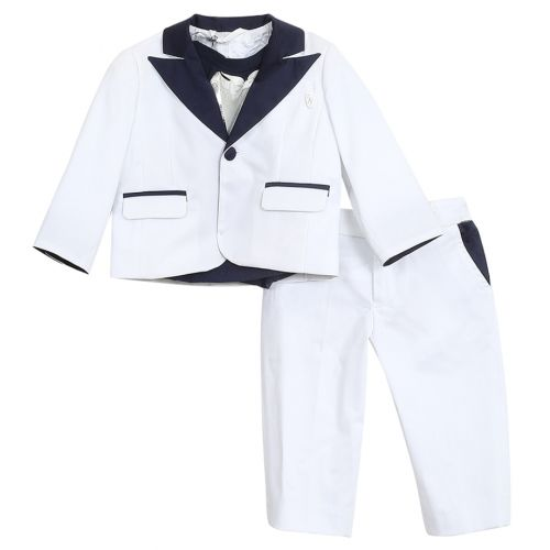 Miss Grant Coat Set - White
