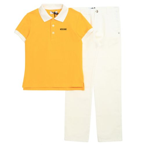 Moschino Poloshirt With Pants