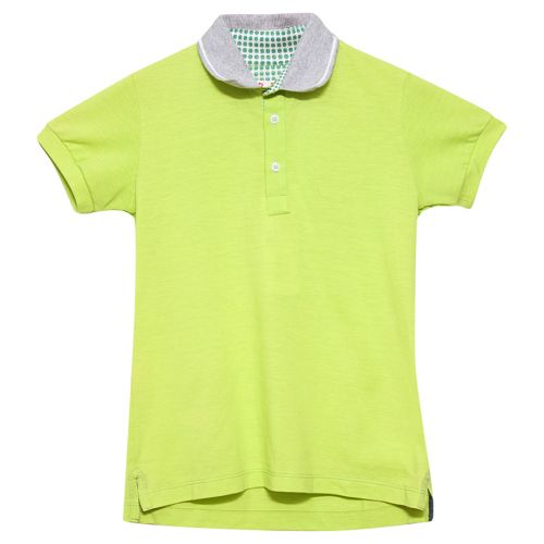 Neon Green Polo Shirt