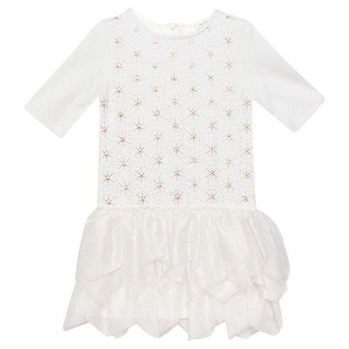 White Star Design Dress