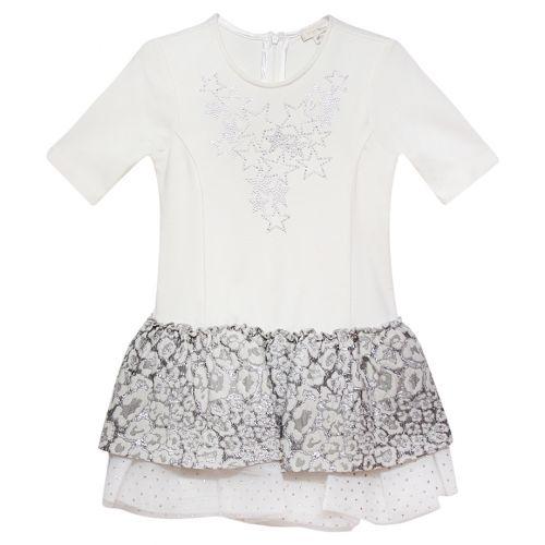 Silver Star Short Sleeve Dress