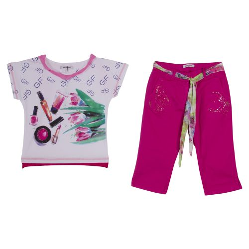 GF Ferre Top With Trouser - Pink