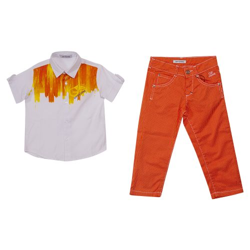GF Ferre T-Shirt & Pants - Orange