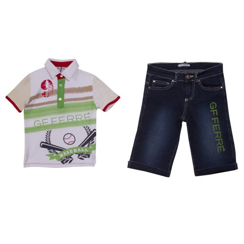 GF Ferre Polo Shirt & Bermuda Shorts
