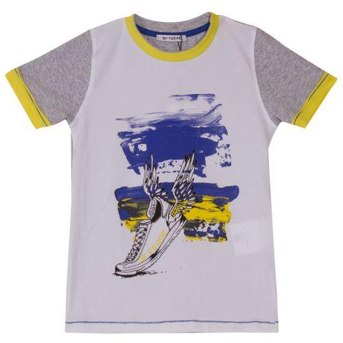 GF Ferre T-Shirt & Bermuda Shorts - White