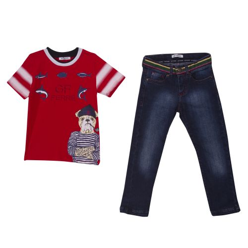 Ferre T-Shirt with Pants