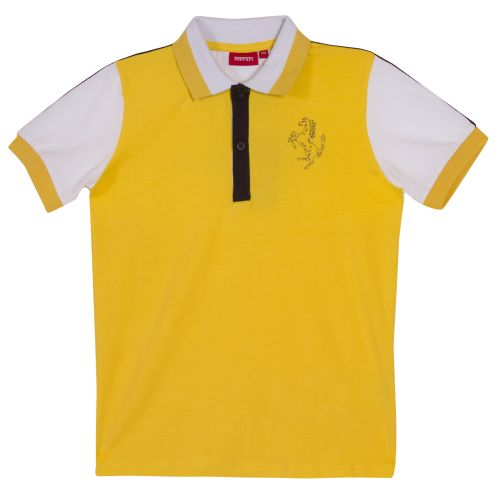 Yellow Short Sleeve Polo Shirt