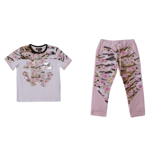 Roberto Cavalli T-Shirt & Pants - White